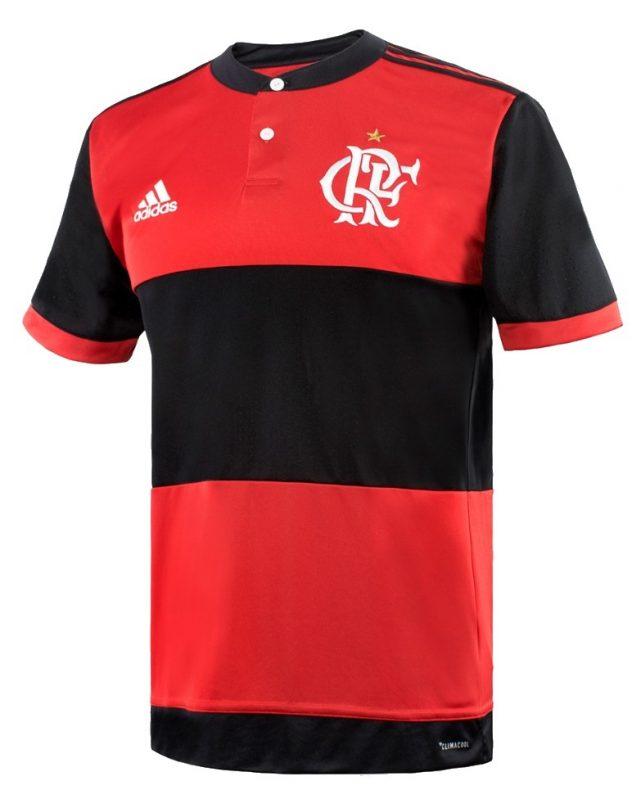 cea8fe915c Modelo 2017 –  EuSou. adidas e Flamengo fizeram um lançamento diferente.